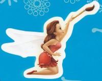 Flitterific Sticker Book - Blue - Rosetta - Paintbrush