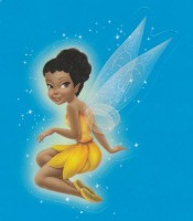 Flitterific Sticker Book - Blue Stars - Iridessa - Sitting