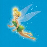 Flitterific Sticker Book - Blue Stars - Tinker Bell - Flight