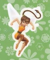 Flitterific Sticker Book - Green Flowers - Fawn - Leap