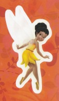 Flitterific Sticker Book - Orange Leaves - Iridessa - Back