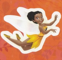 Flitterific Sticker Book - Orange Leaves - Iridessa - Flight