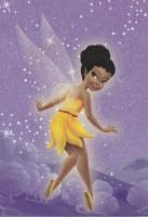 Flitterific Sticker Book - Purple Stars - Iridessa - Back