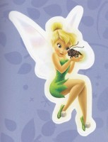 Flitterific Sticker Book - Purple - Tinker Bell - Blaze