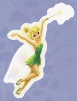 Flitterific Sticker Book - Purple - Tinker Bell - Wand