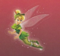 Flitterific Sticker Set - Burgundy - Tinker Bell - Travel