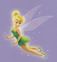 Flitterific Sticker Set - Lavender - Tinker Bell - Flight