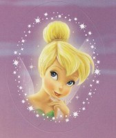 Flitterific Sticker Set - Portrait - Tinker Bell - Chin