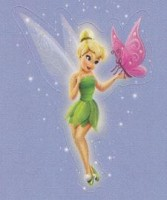 Lil' Sticker - Tinker Bell - Butterfly