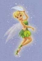 Lil' Sticker - Tinker Bell - Feather