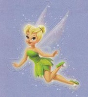Lil' Sticker - Tinker Bell - Flight