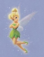 Lil' Sticker - Tinker Bell - Pout