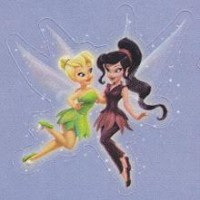 Lil' Sticker - Tinker Bell, Vidia