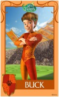 Pixie Hollow Games Trading Cards - Buck 01