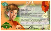 Pixie Hollow Games Trading Cards - Buck 02
