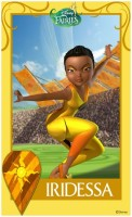 Pixie Hollow Games Trading Cards - Iridessa 01