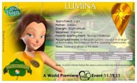 Pixie Hollow Games Trading Cards - Lumina 02