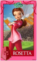 Pixie Hollow Games Trading Cards - Rosetta 01