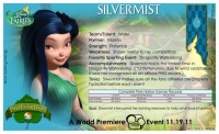 Pixie Hollow Games Trading Cards - Silvermist 02