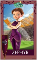 Pixie Hollow Games Trading Cards - Zephyr 01