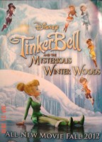 Tinker Bell and the Mysterious Winter Woods DVD preview insert