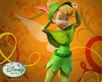 Wallpaper - Tinker Bell - Autumn 1