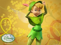 Wallpaper - Tinker Bell - Autumn 2