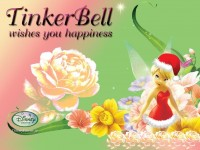 Wallpaper - Tinker Bell - Christmas
