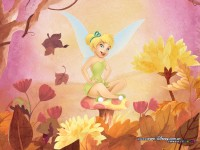 Wallpaper - Tinker Bell - Fall
