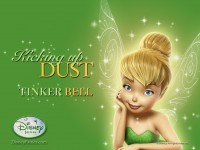 Wallpaper - Tinker Bell - Kicking up Dust 3