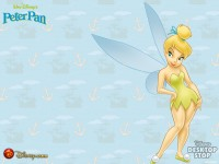 Wallpaper - Tinker Bell - Pan