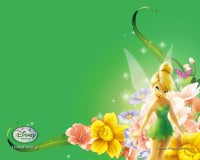 Wallpaper - Tinker Bell - Spring
