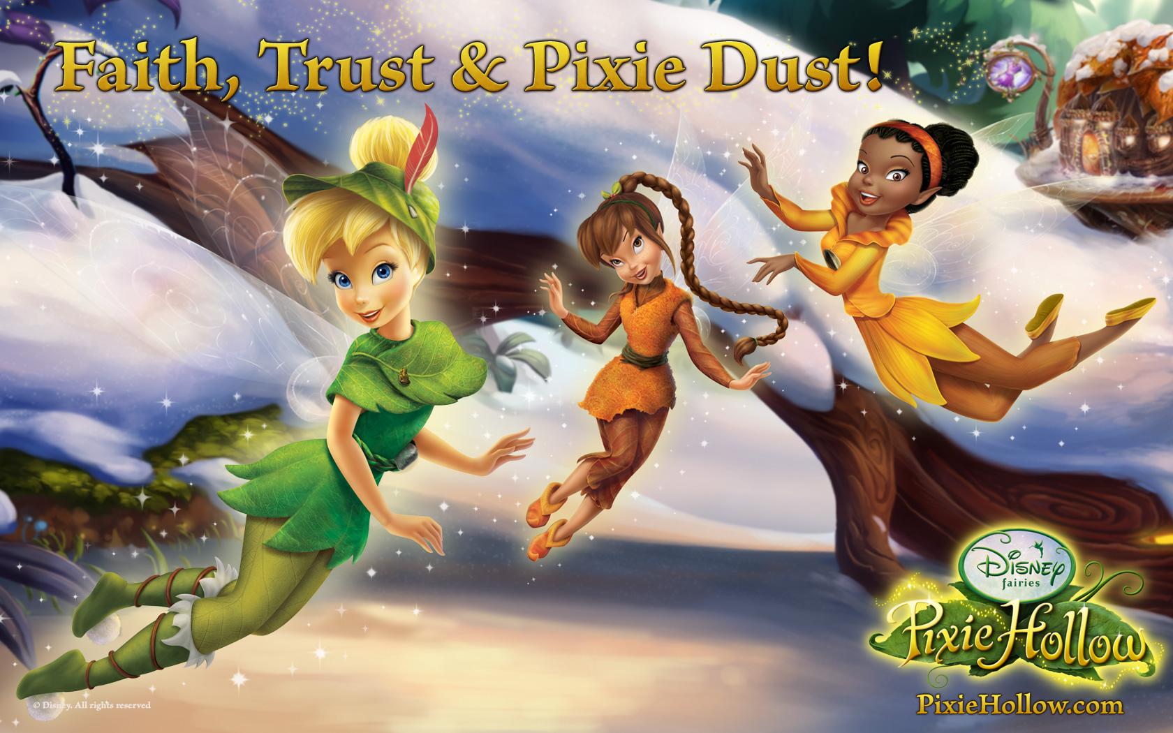 Disney fairies wallpapers group wallpaper winter thecheapjerseys Gallery